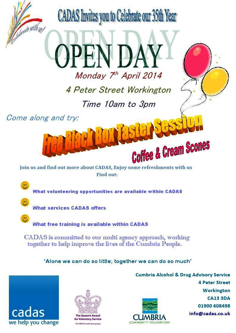 CADAS Open Day Workington